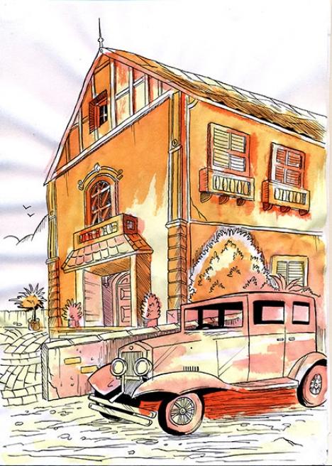Scenario watercolor
