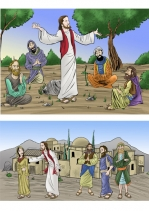 Contar historias de la Biblia