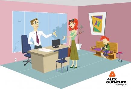 Ilustración - Jobs - Alex Guenther