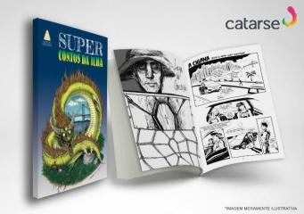 Revista em Quadrinhos Super Contos da Ilha