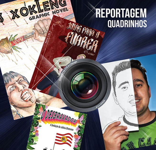 """Entrevista ao Canal RBA TV de Rio do Sul sobre a revista """"Os Xokleng"""""""