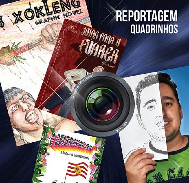 Entrevista sobre o Curso História em Quadrinhos como ferramenta para o ensino