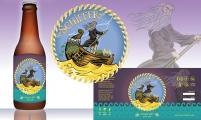 Design completo para Rótulo de Cerveja