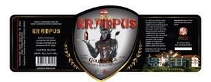 Rótulo de cerveja Krampus