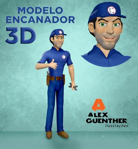 Encanador 3D