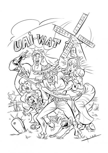 Ilustração - Trabalhos - Alex Guenther