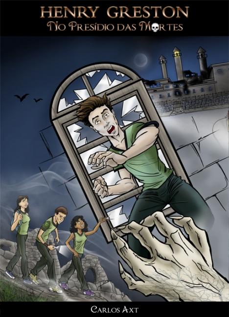 Capa de livro Henry Greston no presídio das mortes