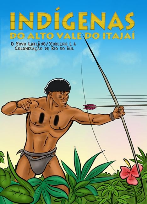 História em quadrinhos- Indígenas do Alto Vale do Itajaí