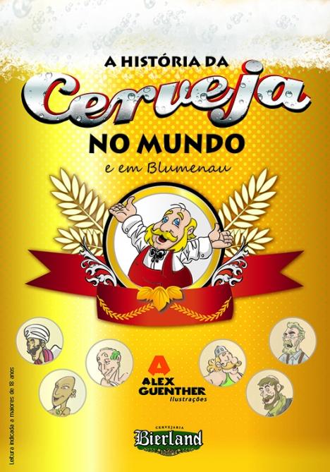 Revista a História da cerveja no mundo em em Blumenau